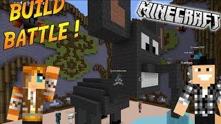 UN ÉLÉPHANT TRÈS ETRANGE ! | BUILD BATTLE ( Avec Popigames) | Minecraft