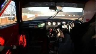 2010年12月18日バトルエボミ第2戦。 新品タイヤ卸すもベスト更...