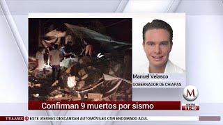 Manuel Velazco habla sobre la situación en Chiapas