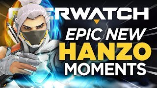 When Overwatch Streamers Play New Hanzo! - Epic Moments