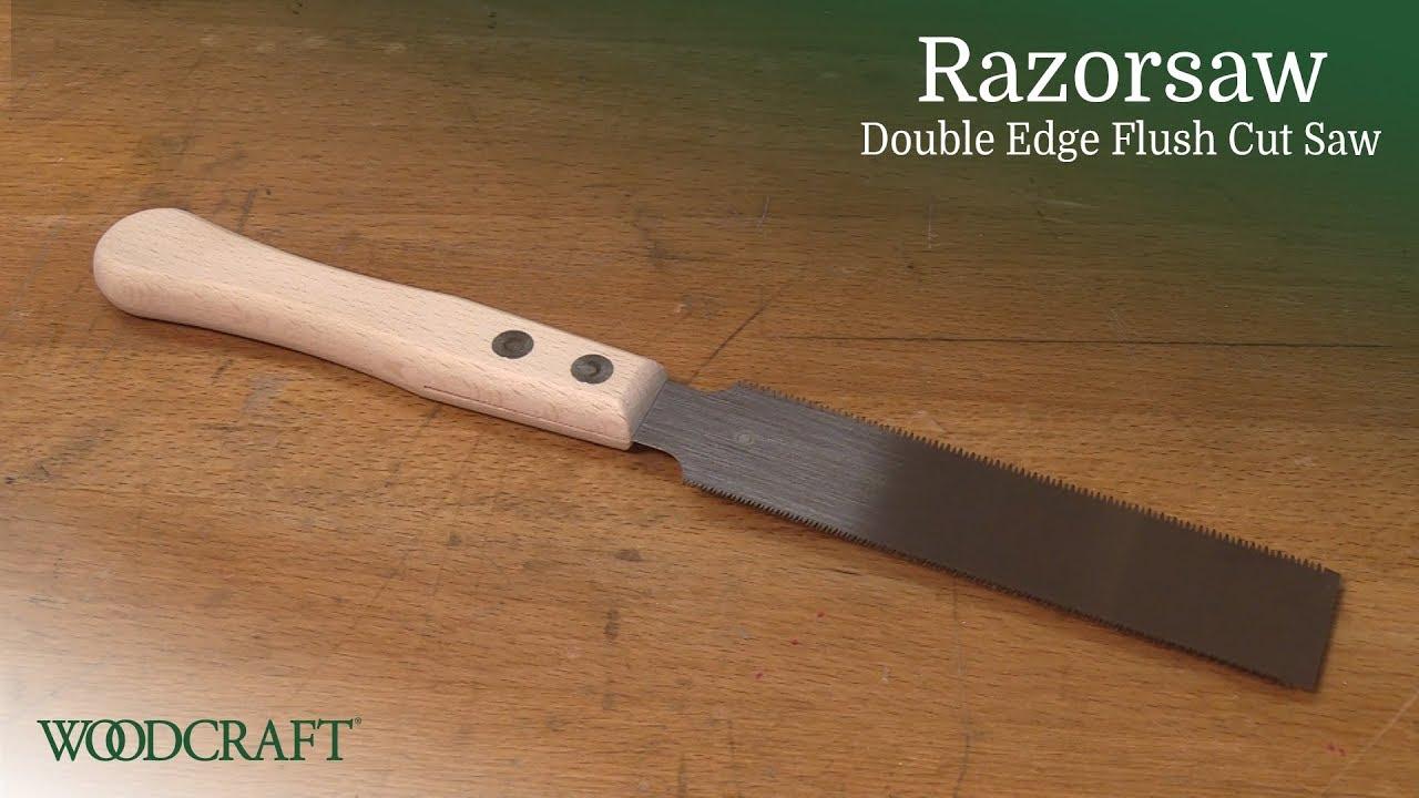 Razorsaw Double Edge Flush Trim Saw Product Overview Youtube
