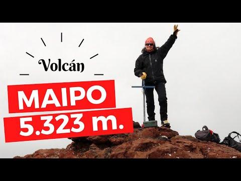 AVENTURATE: Ascensión al volcán Maipo