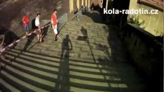 Kolo pro život - Pražské schody 2012
