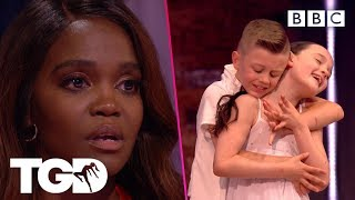 Lily and Joseph bring the Dance Captains to tears | The Greatest Dancer | Auditions Week 1