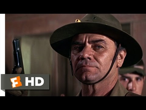 The Wild Bunch (2/10) Movie CLIP - Bank Shootout (1969) HD
