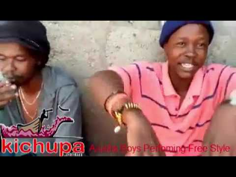 HipHop Free Style - Arusha Boys Perfoming Free Style