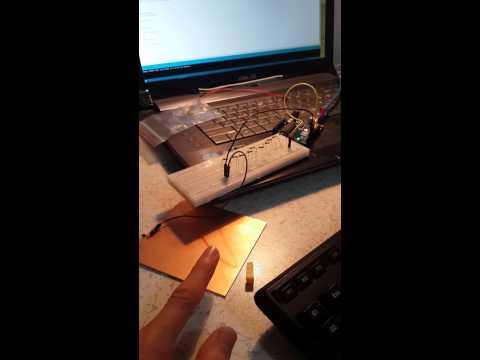 Capasitive Touch Sensor Diy