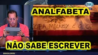 DIRETOR DO FLAMENGO CHAMA TORCIDA DE ANALFABETA - FOX SPORTS RÁDIO 22/05/2019