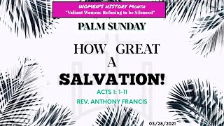 How Great A Salvation  (Palm Sunday)