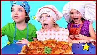Children prepare pizza Stories for Kids