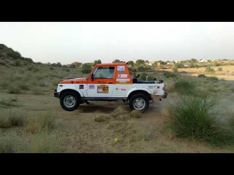 hadla and miyacor bikaner car racing sand