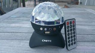 Review: Onite Bluetooth Disco Speaker