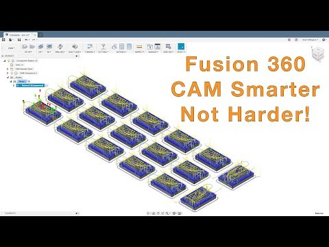 Fusion 360 - CAM Duplication Options - YouTube