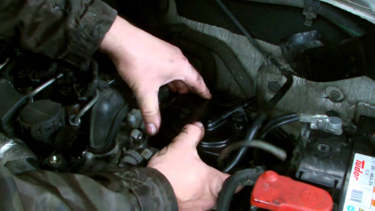 small resolution of ford focus 16tdci fuel filter replacment
