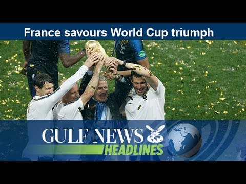 France savours World Cup triumph - GN Headlines