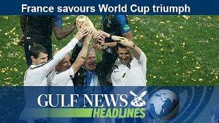 France savours World Cup triumph - GN Headlines