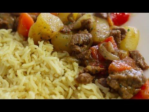 Easy Somali Bariis Iyo Suqaar Recipe How To Make Somali Rice Beginner Friendly Youtube