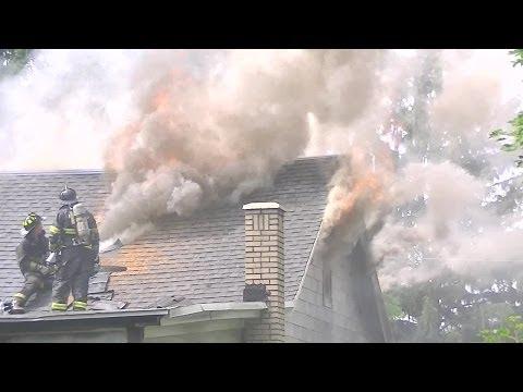Locust Gap, 296 Main St. - 2 Alarm Dwelling Fire W/Fireground Audio - 6/29/14