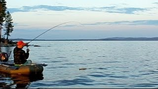 Карелия 2013 Пяозеро Белое море(Поездка летом 2013 года в Карелию на Пяозеро и Белое море. В видео показана в основном рыбалка и природа север..., 2013-11-18T14:24:44.000Z)