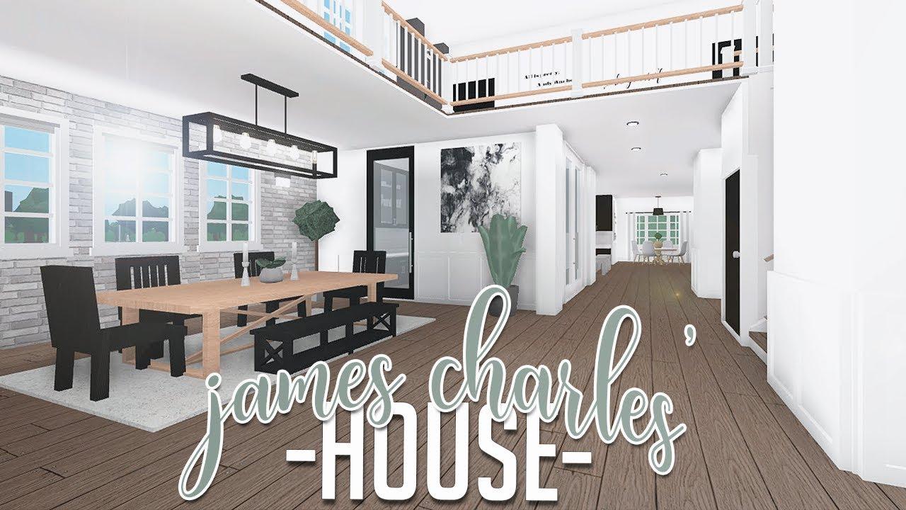 Roblox Bloxburg James Charles House 185k Youtube