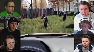 """""""Реакции Летсплейщиков"""" на Бандитов из Mist Survival"""