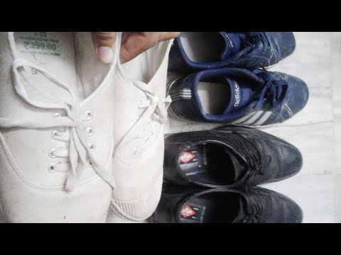 How to Clean Shoes at Home