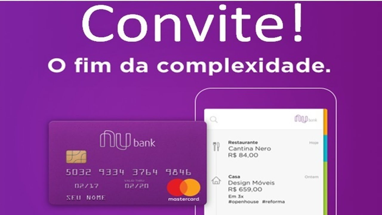 Nubank libera convite especial que está aprovando geral - YouTube ca2af6c06a