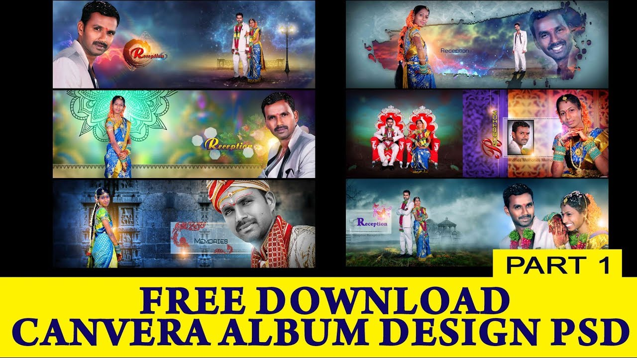 12x36 Canvera Album Design Psd S Free Download Link In Dispersions Ss Free Psd 129 Youtube