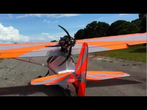 Viking Aircraft Engine in an Aventura seaplane Viking Aircraft Engine for sport type aircraft