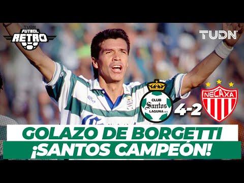 ¡Señor gol! Golazo de Borgetti y Santos es campeón! | Santos vs Necaxa - Final Invierno 1996 | TUDN
