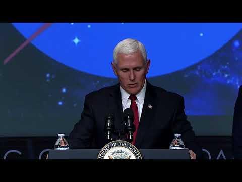 Vice President Pence Swears in New NASA Administrator Bridenstine