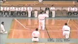 少林寺拳法 5 圧法解説演武 東京都北区少林寺拳法連盟 大会