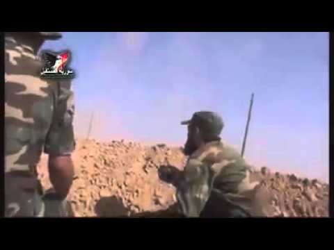 عمليات الجيش السوري بقيادة العقيد سهيل الحسن بمحيط مطار كويرس العسكري