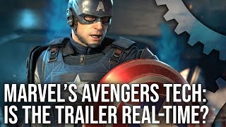 [4K] Marvel's Avengers Trailer: Is This Really Real-Time Console Graphics?