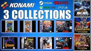 Konami 50th Anniversary Collections (MORE THAN GAMES) Castlevania, Contra & Arcade Classics