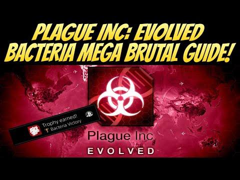 Plague Inc: Evolved Bacteria Mega Brutal Guide! BEST Method