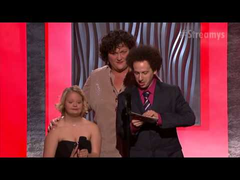 Streamys 2013, Burning Love, Best Ensemble Cast, Acceptance Speech