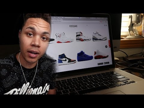 IS THAT WEBSITE SELLING REAL OR FAKE AIR JORDANS? (THE TRUTH)