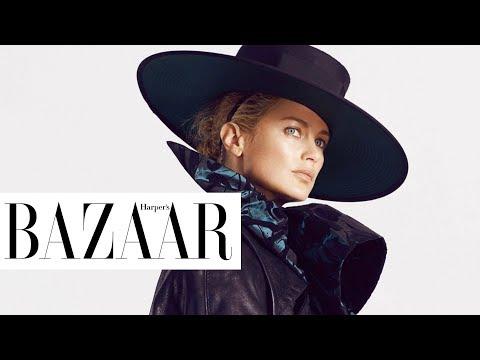 Carolyn Murphy「我不能停止時間,但我試著去享受人生! | BAZAAR Cover Star