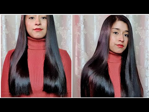 HOW I STRAIGHTEN MY HAIR 2019 || SANGITA SHAHI