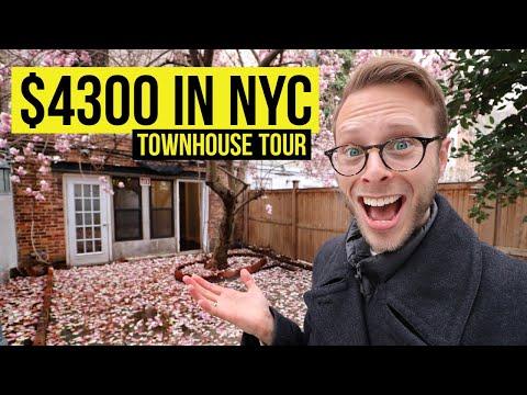 NYC Apartment Tour $4300 Townhouse! Manhattan New York City 2020