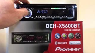 Pioneer DEH-X5600BT - MKLSHOP.DK