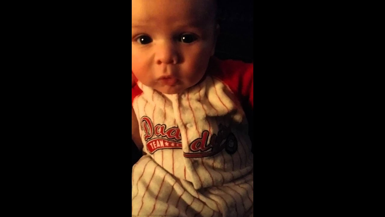 My 10 Week Old Son Saying I Love You Mom Youtube