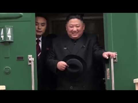Kim Jong-un arrives in Russia to meet with Putin