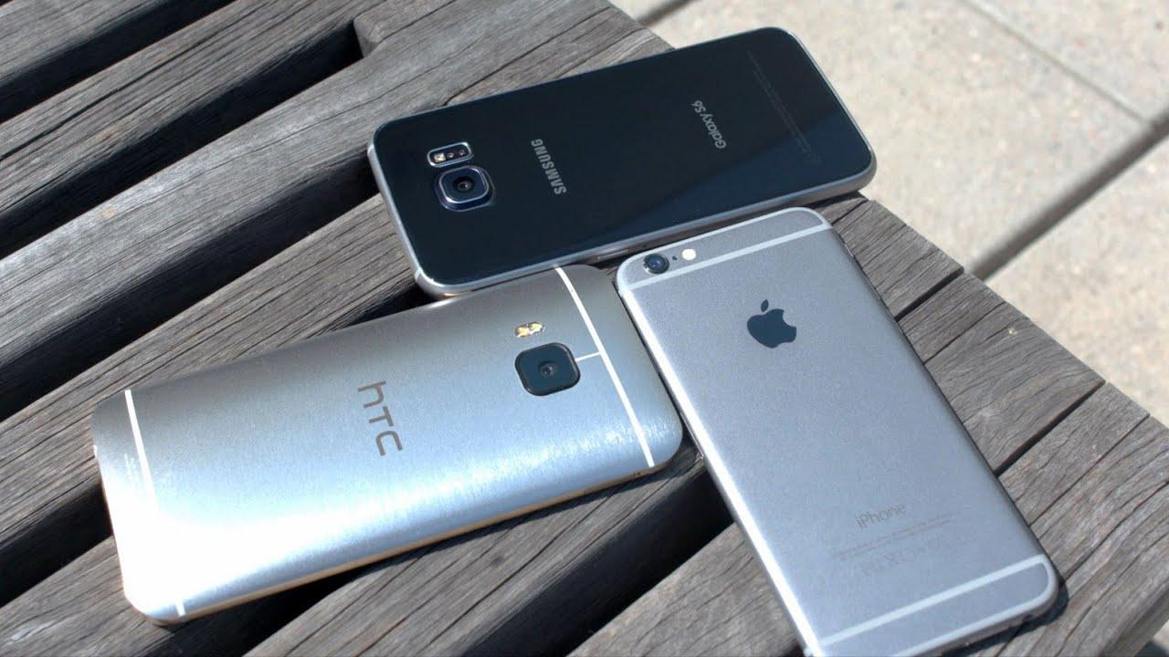 Galaxy S6 vs iPhone 6 vs HTC One M9 Camera Challenge ...
