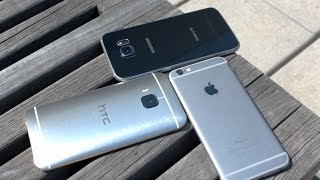 Galaxy S6 vs iPhone 6 vs HTC One M9 Camera Challenge!