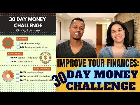 Improve Your Finances - 30 Day Money Challenge