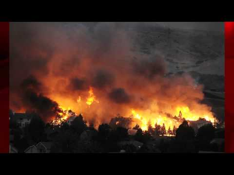 Photos From Waldo Canyon Fire Of Houses Burning