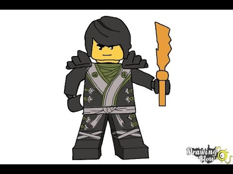 How to draw cole from lego ninjago youtube - Comment dessiner ninjago ...