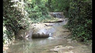 Горная речушка в районе Совет-Квадже